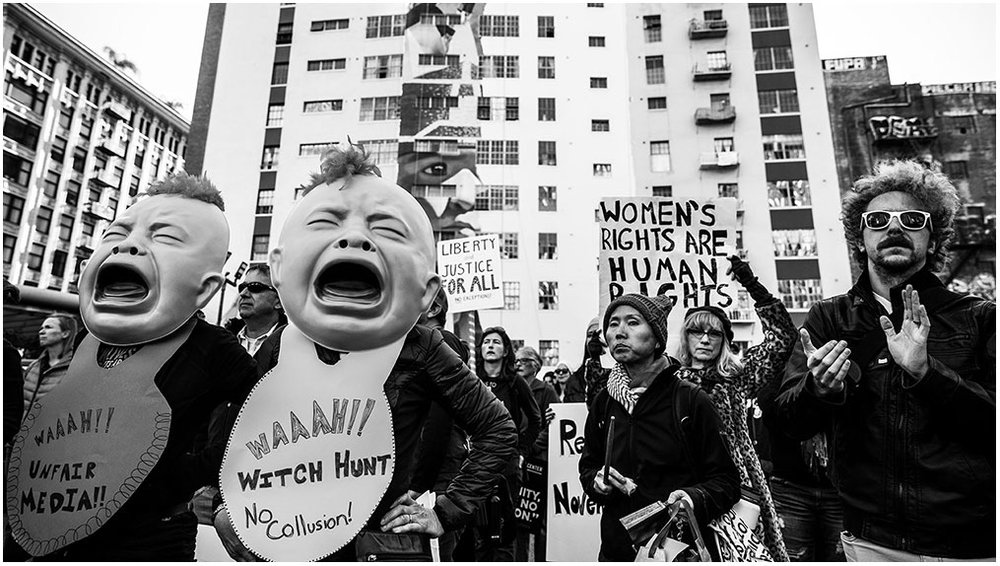 """Women's March Los Angeles"" Pershing Square to City Hall Los Angeles, California 20th January 2018"