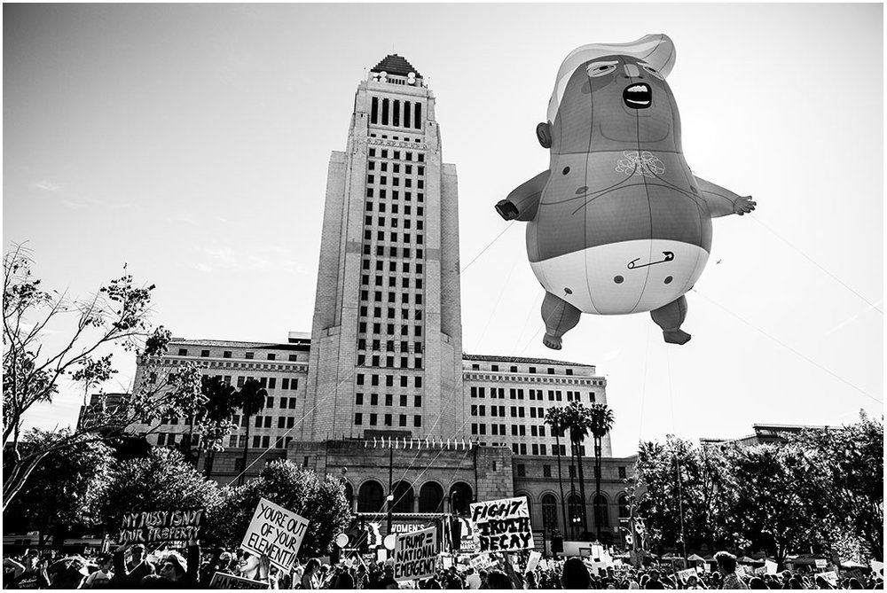 """""""Women's March Los Angeles"""" Pershing Square to City Hall Los Angeles, California 19th January 2019"""
