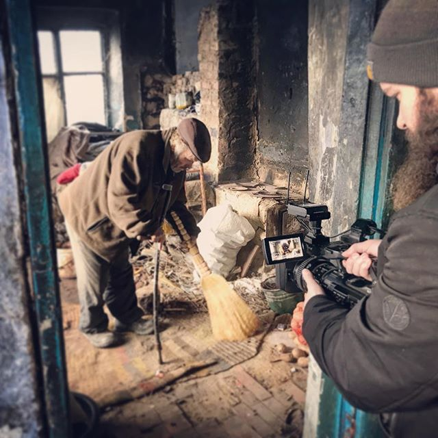 """""""A man is not finished when he is defeated. He is finished when he quits"""" #quote #moldova #poverty #proud #bedroom #cleaning #filming #documentary #poor #man #photography #videography #picoftheday #photooftheday #rogeroyen #follow #sony #beard #travel #visitmoldova #filmmaking #explore #exposure #moment #europe #defeated #life #lifequotes #aid"""