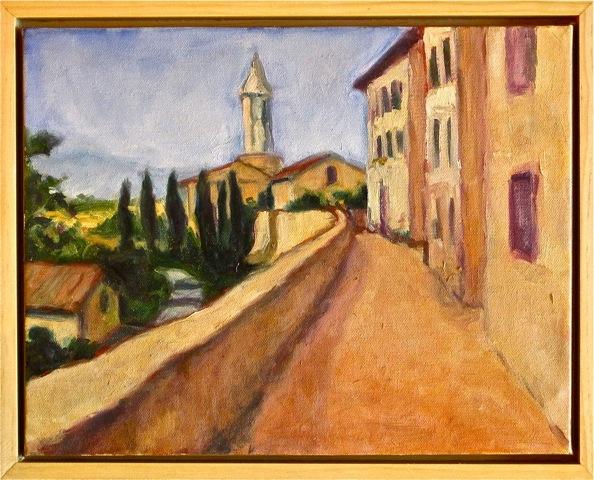 Two Roads, Pienza