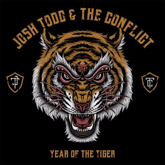 25. Josh Todd & The Conflict - Year Of The Tiger
