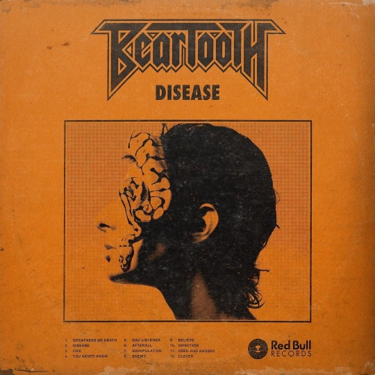 30. Beartooth - Disease (Melodic Hardcore)