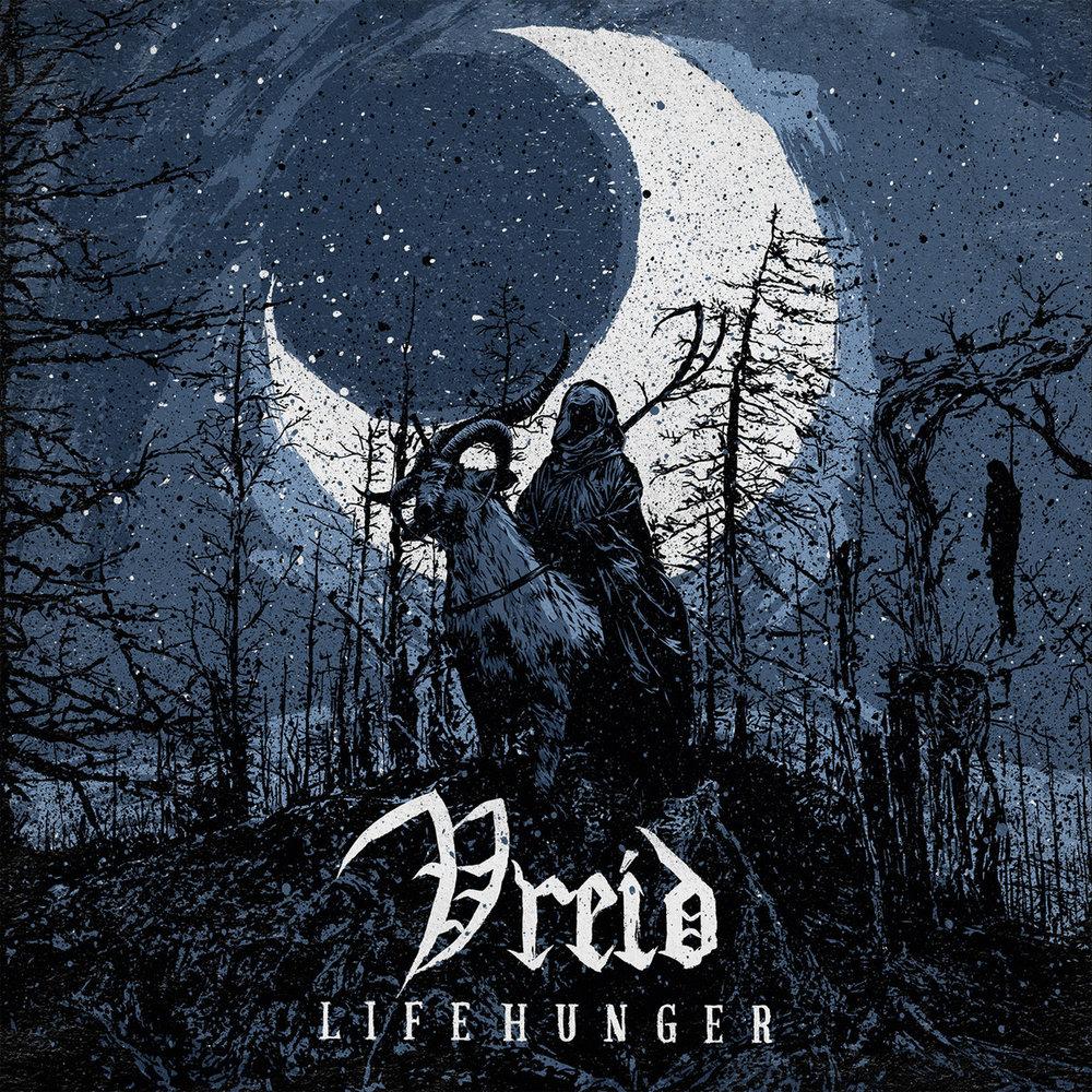 36. Vreid - Lifehunger (Black Metal/Black N' Roll)