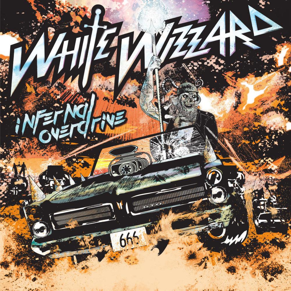 25. White Wizzard - Infernal Overdrive (Traditional Heavy Metal/Progressive Metal)