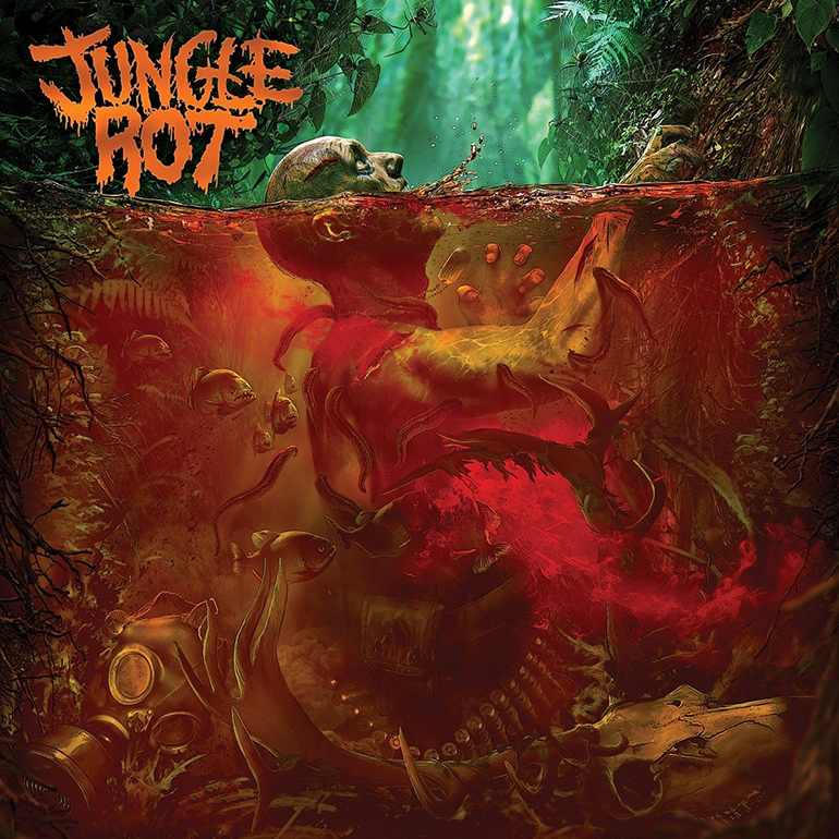 19. Jungle Rot - Jungle Rot (Death Metal)