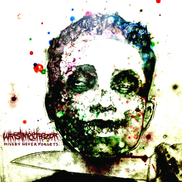 "REVIEW: ""Misery Never Forgets"" By WRISTMEETRAZOR (Mathcore) -"