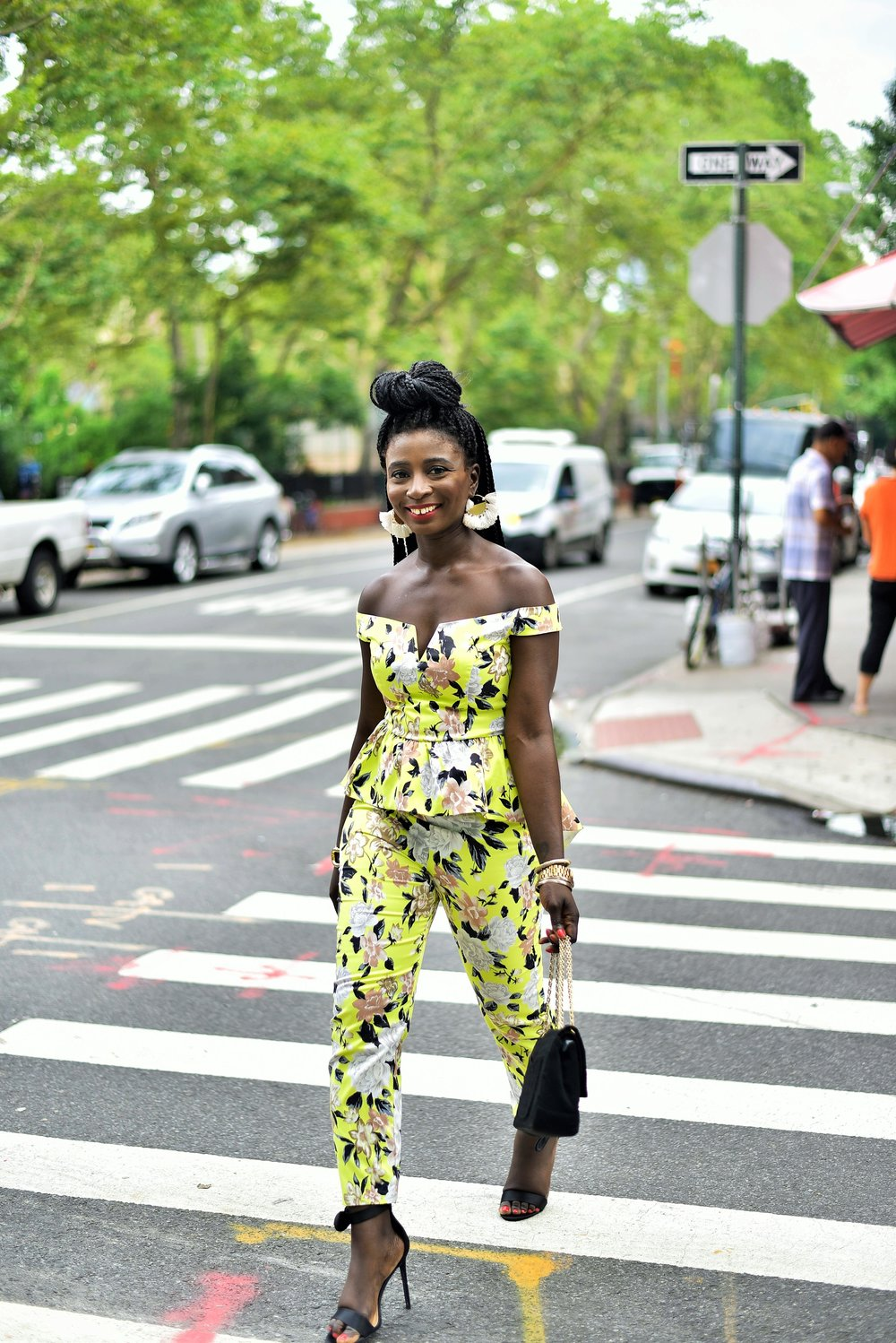 Floral-Print-Matching-Set-Outfits