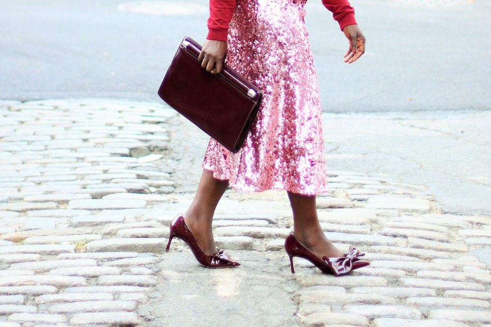 Sequins-Skirt-Outfit-Ideas