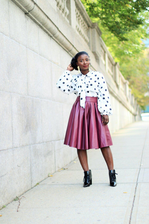 burgundy-midi-Skirt-outfits