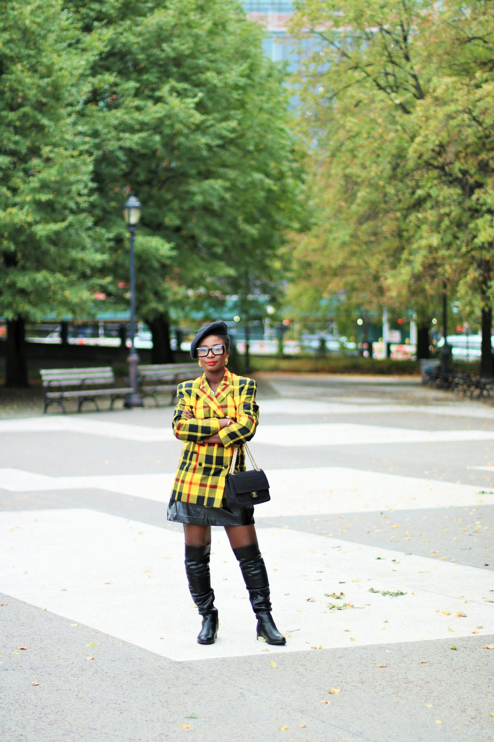How-To-Style-A-Plaid-Blazer