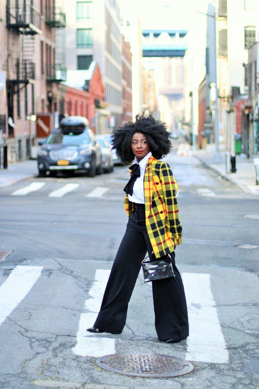 Street-Style-Plaid-Blazer