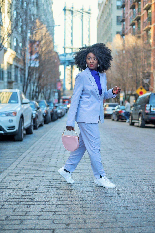 Lilac Suit           -