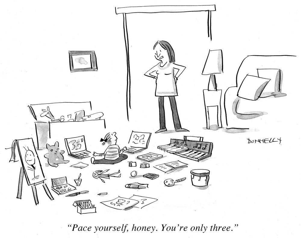 ©   Liza Donnelly    and    The New Yorker Magazine