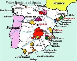 SpainRegionWine