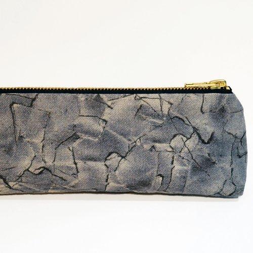 d83c3d21fefb Grey Patched Long-boy Bag — Lucy Caster Design