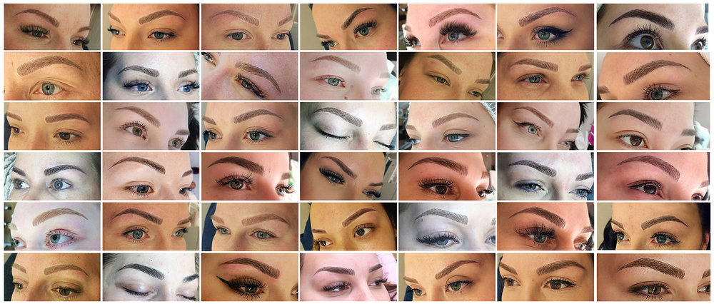 Some brows made by the students of Siiri Tabri.