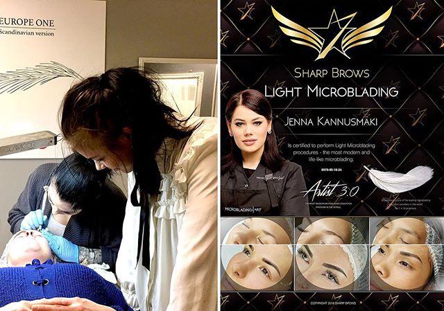 Jenna Kannusmäki. Erinomainen artisti Joensuusta nyt myös Gold tasolla microblading.fi kartalla. Huippu tarkka käsi, iso kokemus ja hyvin paljon tyytyväisiä asiakkaita. Jennalta saa nyt myös LIGHT MICROBLADINGIÄ. Kannattaa varaa aika heti! :) microblading.fi/pieceofbeauty  #microblading #sharpbrows#lightmicroblading#probrows #everyoung#siiritabri#microbladinginfinland#microbladinginhelskinki#microbladinginestonia #microbladingintallinn#microbladinginengland#microbladinginlondon #microbladinginuk#microbladingtraining #microbladingclass#microbladinginswitzerland#microbladinginzurich #microbladinginsweden#microbladinginstockholm #brows#browsonfleek #browshading#artist20#artist30 #nanomicroblading#browanalytics#sharpbrowssweden