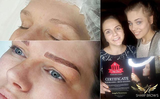 Angela Kasemets. Students' work at the Light microblading classes start to exceed all expectations :) See more at: www.sharpbrows.com/ microblading.vip  #microblading #sharpbrows#lightmicroblading#probrows #everyoung#siiritabri#microbladinginfinland#microbladinginhelskinki#microbladinginestonia #microbladingintallinn#microbladinginengland#microbladinginlondon #microbladinginuk#microbladingtraining #microbladingclass#microbladinginswitzerland#microbladinginzurich #microbladinginsweden#microbladinginstockholm #brows#browsonfleek #browshading#artist20#artist30 #nanomicroblading#browanalytics#sharpbrowssweden
