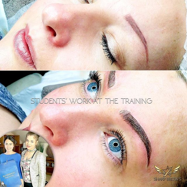SharpBrows Light microblading. Students' work at the training. Quite challenging pigmentation fixed with Light microblading. See more at:  www.sharpbrows.com/ microblading.vip  #microblading #sharpbrows#lightmicroblading#probrows #everyoung#siiritabri#microbladinginfinland#microbladinginhelskinki#microbladinginestonia #microbladingintallinn#microbladinginengland#microbladinginlondon #microbladinginuk#microbladingtraining #microbladingclass#microbladinginswitzerland#microbladinginzurich #microbladinginsweden#microbladinginstockholm #brows#browsonfleek #browshading#artist20#artist30 #nanomicroblading#browanalytics#sharpbrowssweden#halfer