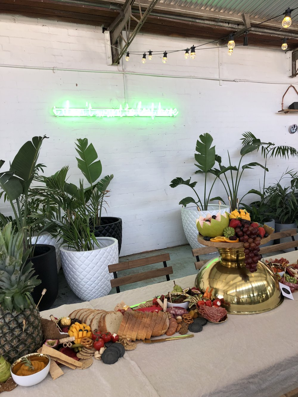 Two Guilty Metre, Pineapple PR Event, The Borrowed Nursery
