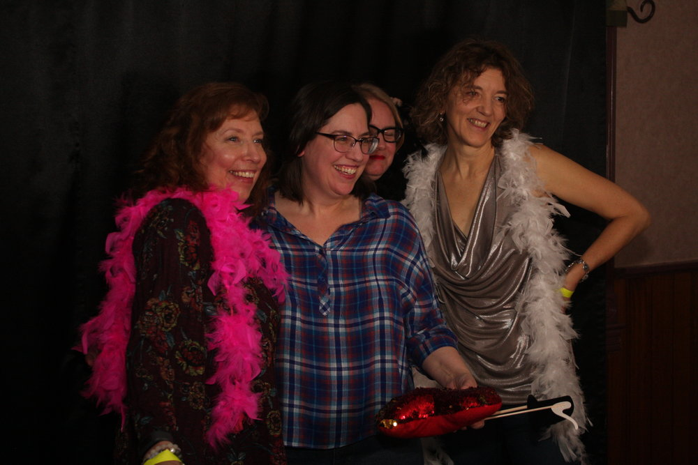 Fun at the Never Forget Photo booth - Photo by Elissa Den Hoed. Courtesy SnapdKW