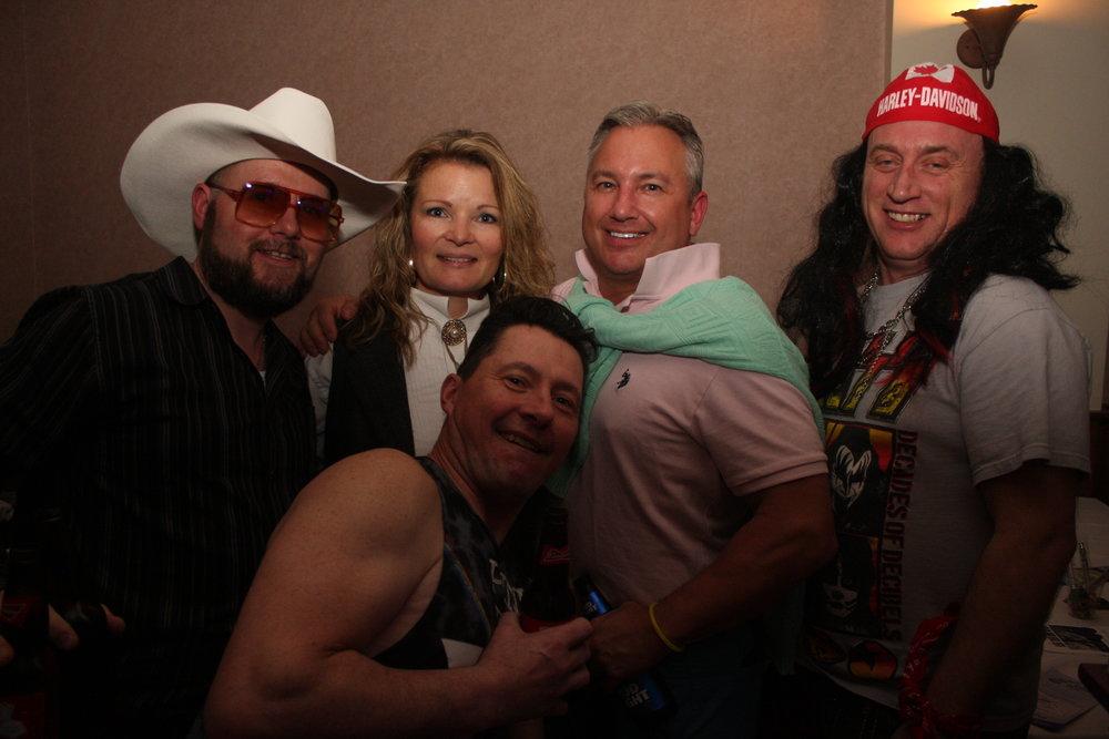 Steve Day, Tracy Stroeder, Jamie Whelan, Kevin Heer & Randy Scott - Photo by Elissa Den Hoed. Courtesy SnapdKW