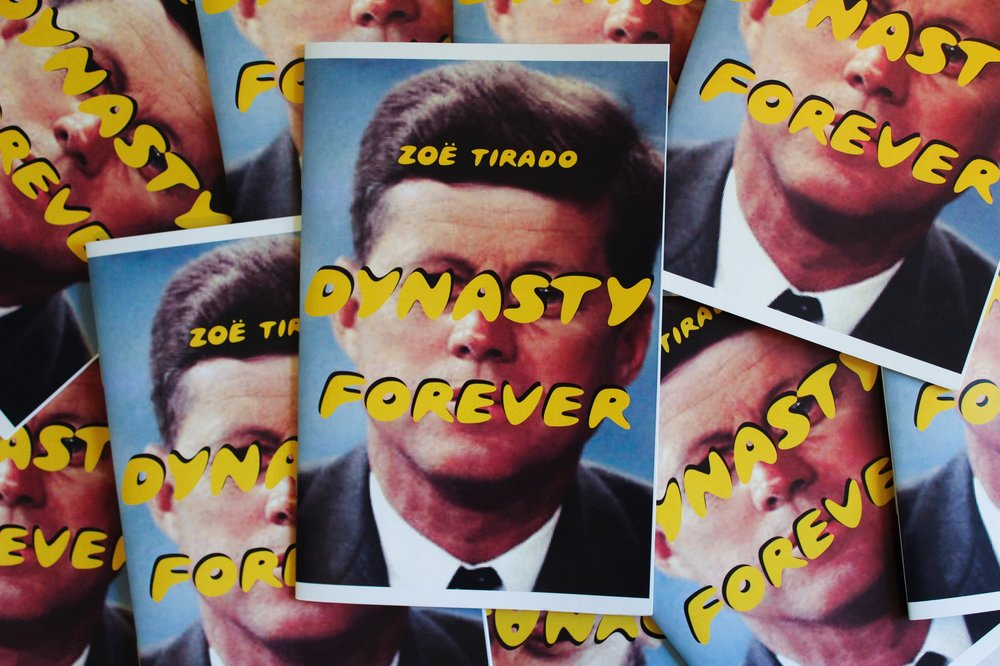 Dynasty Forever   Digital Print Zine edition of 100.     Published by NYSAI Press    To purchase, venmo $4 to @Zoegurl69 with your address in the notes section. :)