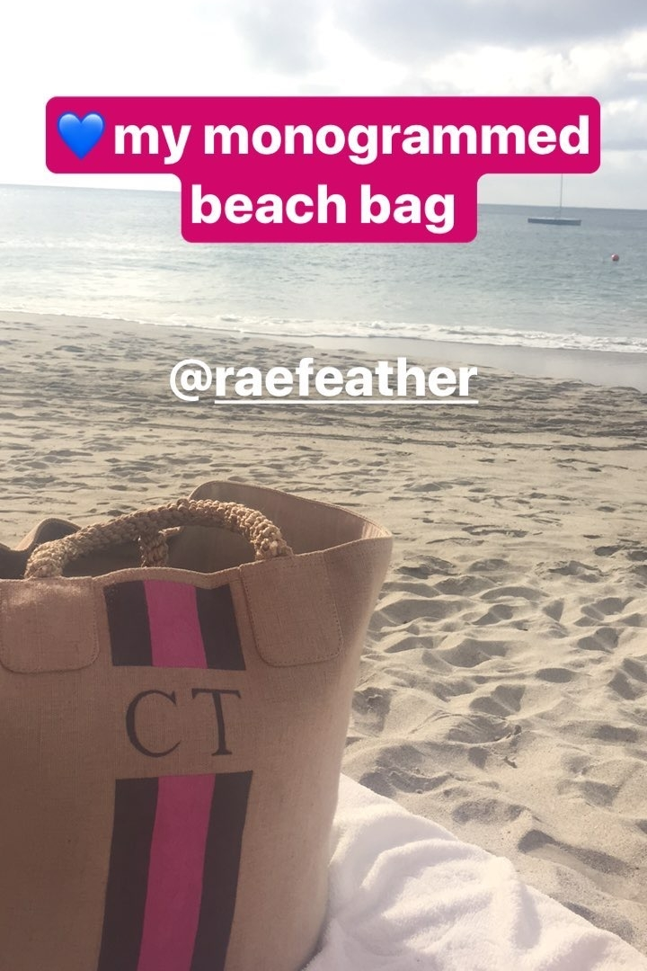 Rae Feather Beach bag