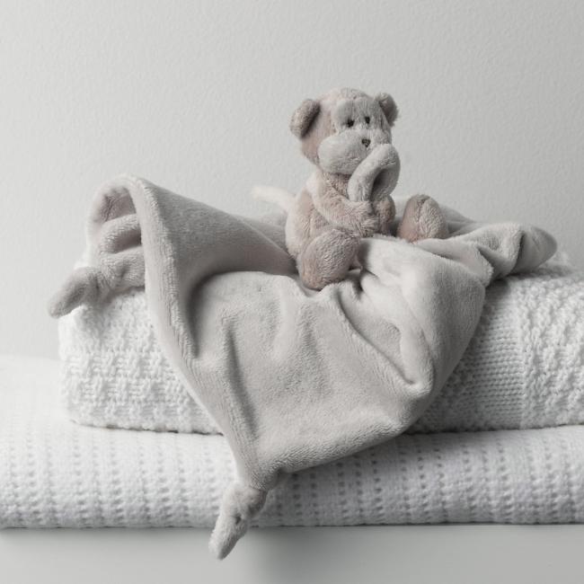 Little White Company Monkey Comforter
