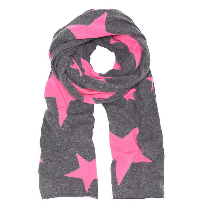 Wyse London Neon Star Cashmere Scarf