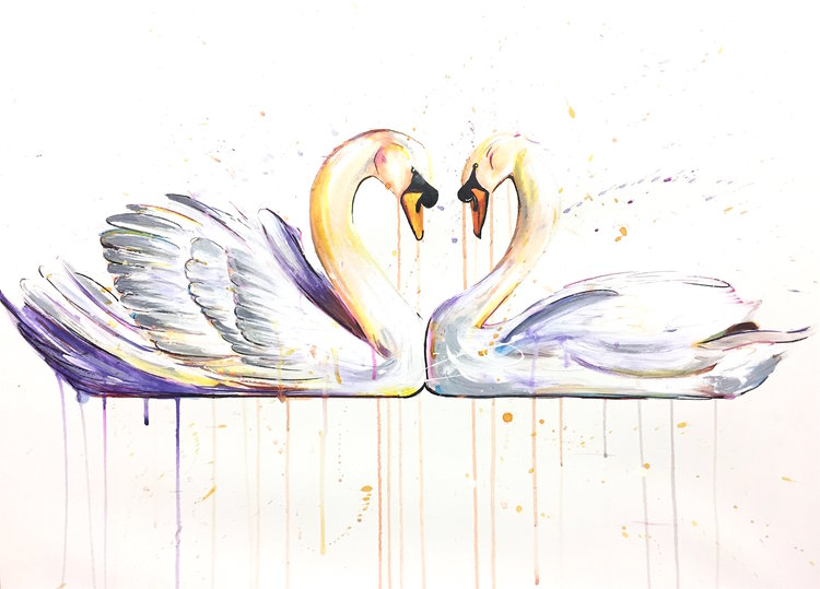 Limited Edition: SWANS, £650