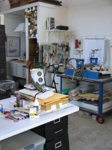 Holve artist studio
