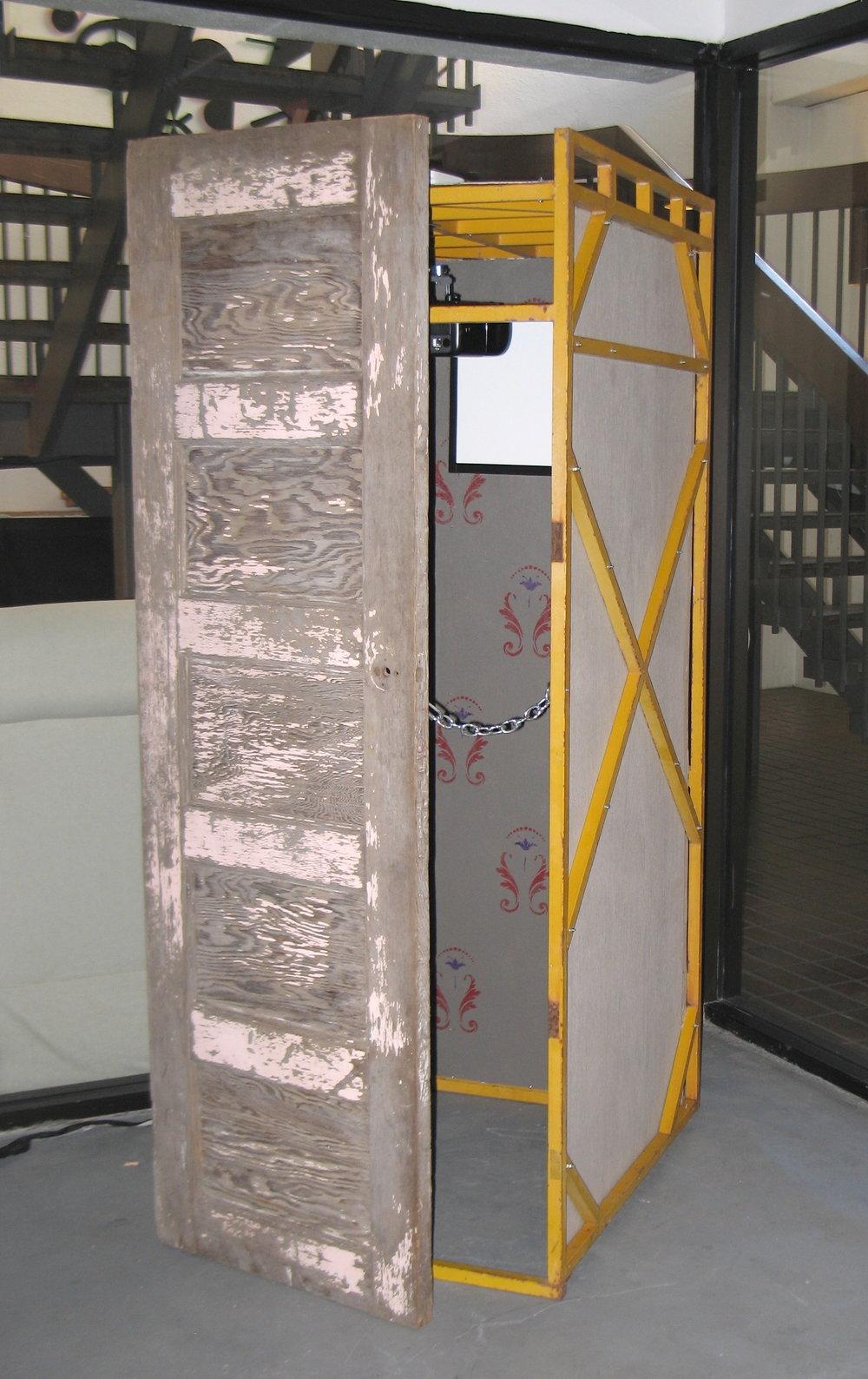 "Paranoimal - 2011.Installation.""Keeping an Eye on Surveillance,""Performance Art Institute (PAI),San Francisco, CA."