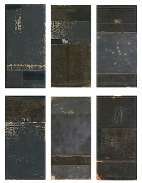 B_THE'S 1 - 6 - 2013.Mixed Media: Book covers, paper, ink3.66