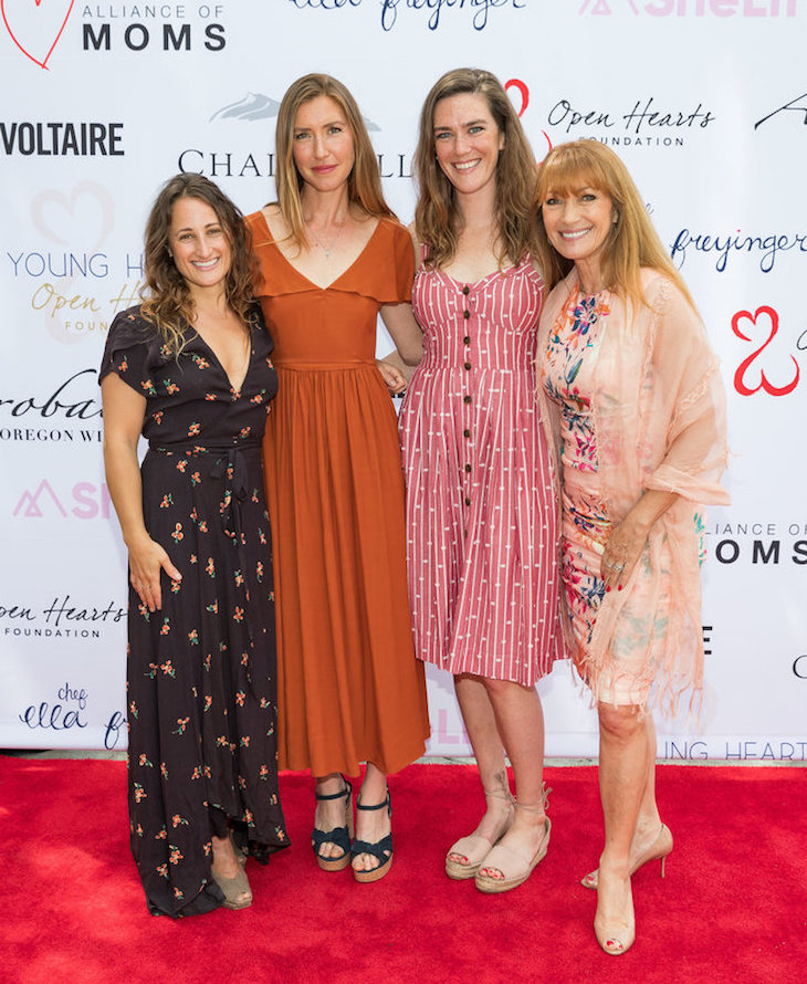 Adee Zach, Katie Flynn, Ella Freyinger and Jane Seymour
