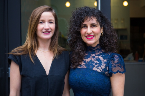 Erin and Agatha on the new Ovenly Williamsburg and radical responsibility - On Bedford & Bowery from New York magazine.Photo courtesy of Bedford & Bowery of Agatha Kulaga (left) and Erin Patinkin (right)