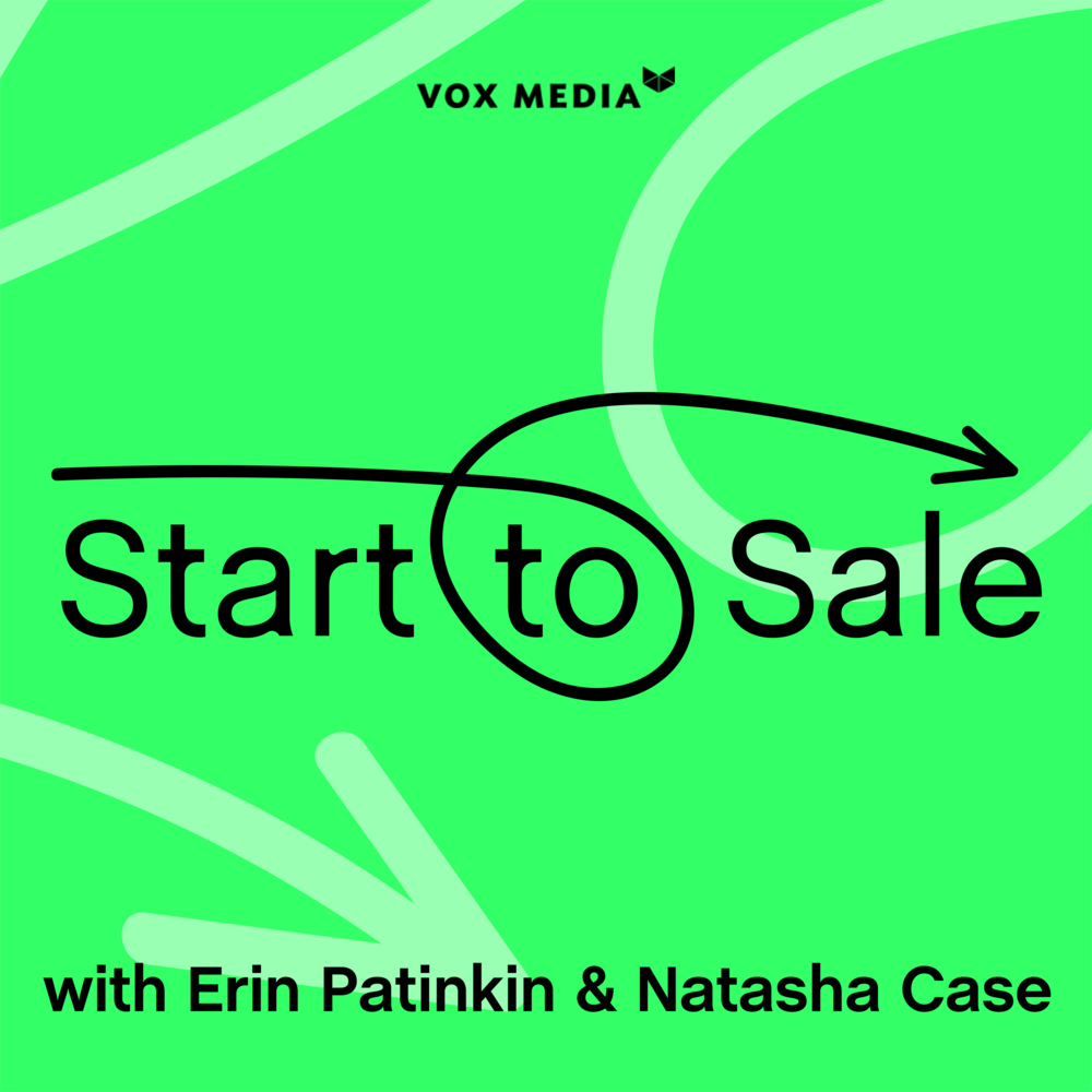 TUNE IN TO START TO SALE - Hosts Erin Patinkin (CEO & Founder of Ovenly) and Natasha Case (CEO & Founder of Coolhaus) invites the brightest entrepreneurial minds to discuss all that it takes--the grit, the money, the obstacles, the passion, and the humor--to build a company from launch to exit.