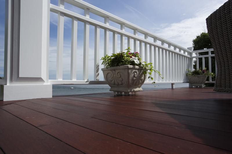nahant mahogany deck