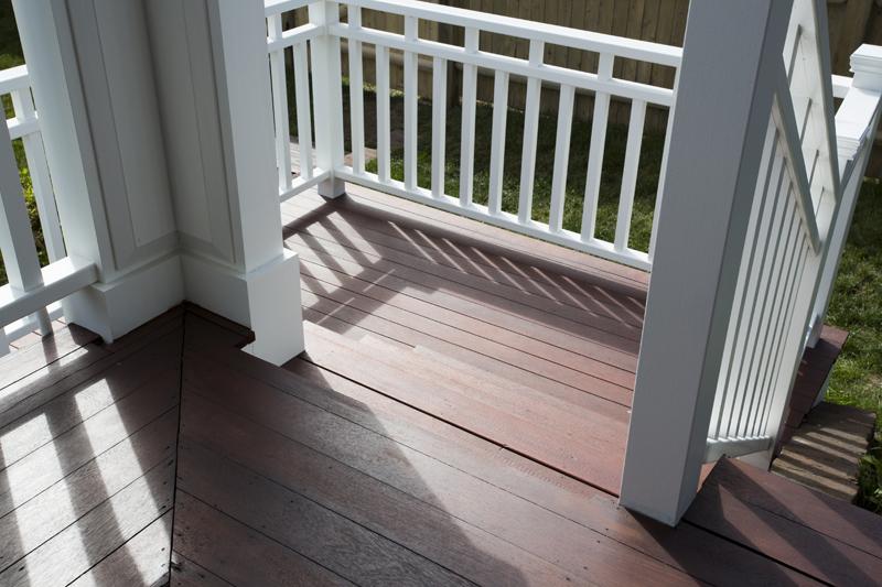 nahant mahogany deck staircase