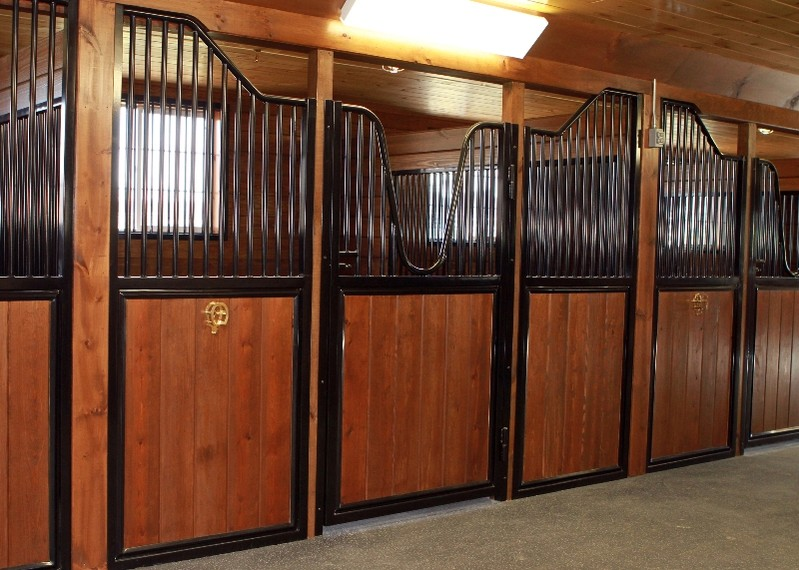 ipswich barn stained stalls