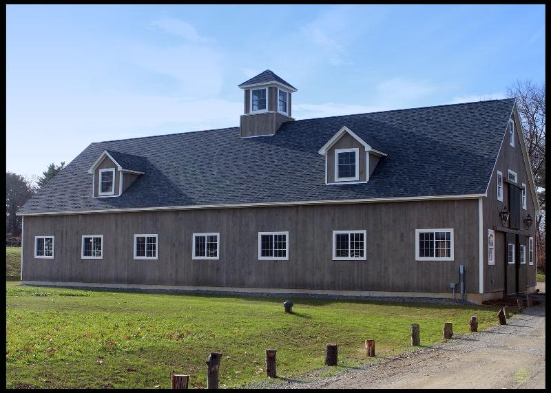 ipswich barn from driveway
