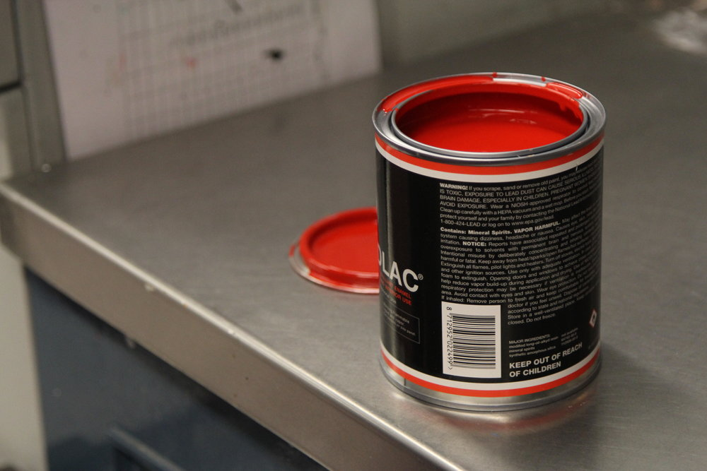 Fine paints of europe hollandlac red