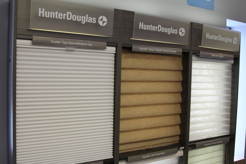 hunter douglas duette top down/bottum up