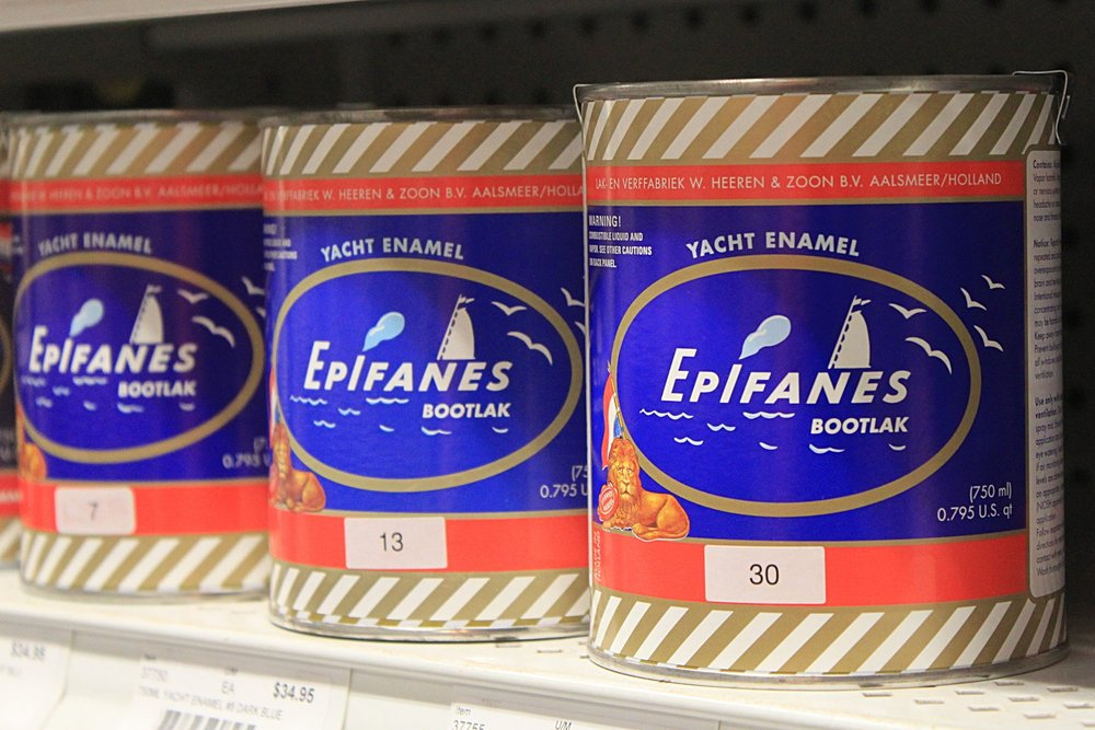 Epifanes Marine Finishes  Epifanes manufactures the finest marine coatings on the market. Their yacht coatings withstand even the harshest seas, thanks to start-of-the-art technology and ingredients.