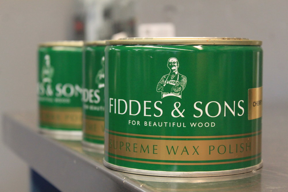 Fiddes Waxes and finishes  A fourth-generation family owned and operated company, Fiddes produces a wide selection of wood finishes from the very finest raw materials and the latest technology available.