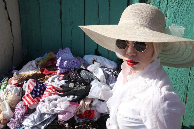 Piles of Panties  (2011), Sunset Boulevard