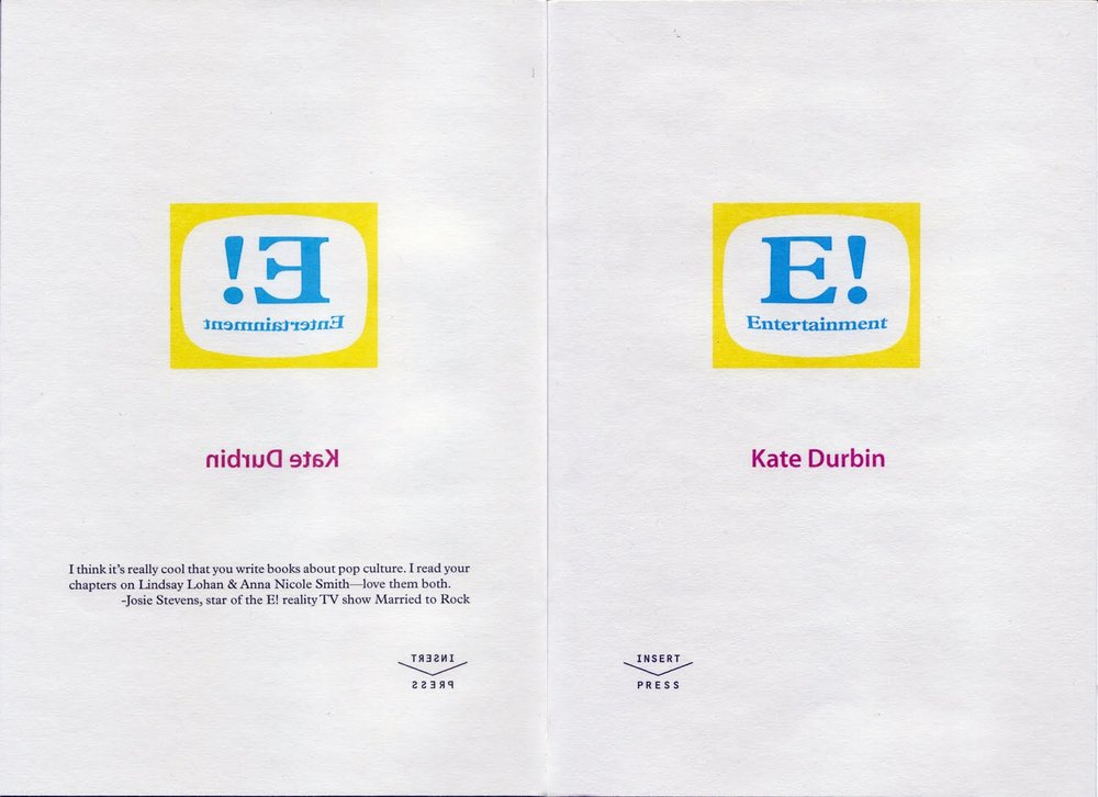 E! Entertainmen  t  the chapbook was later expanded into a full length book .