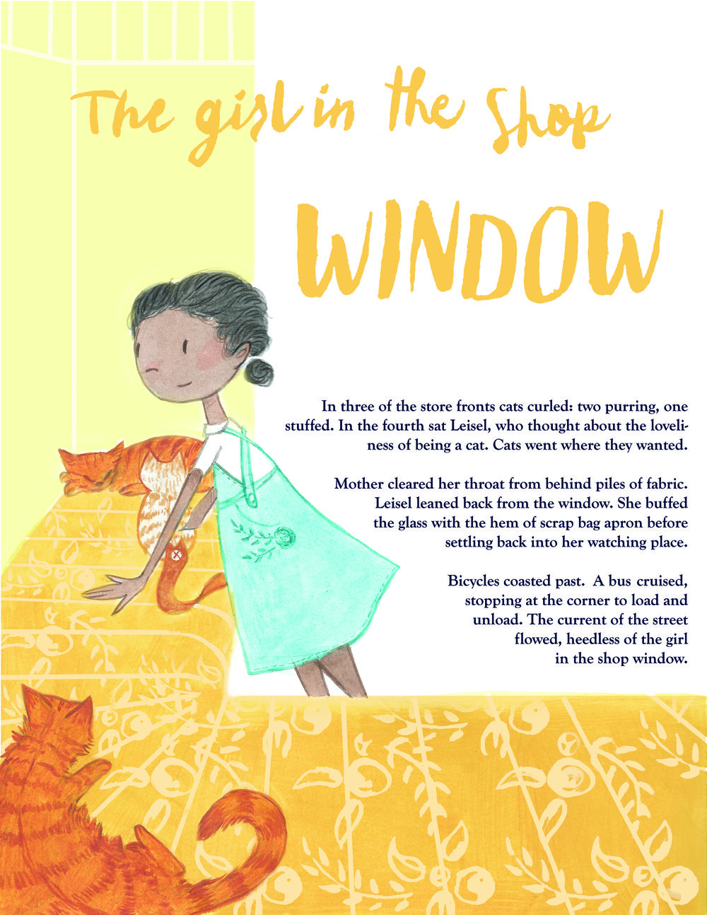 Summer Story Telling shop - Chapter 3- Kate Myers - Kerilynn Wilson