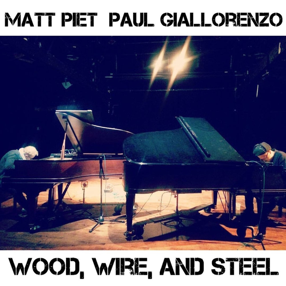 WOOD, WIRE, AND STEEL  by Matt Piet and Paul Giallorenzo