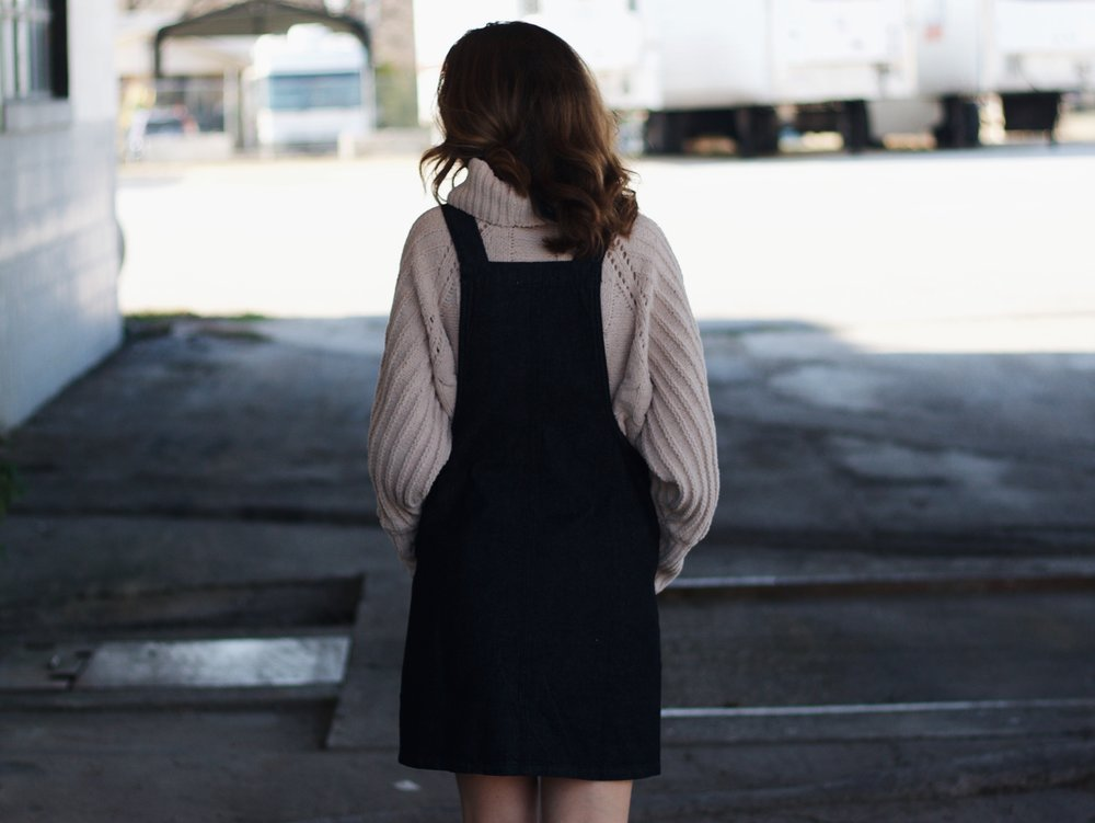 Hello Luvvy Denim Overalls | The Simplistic Chic